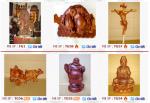 Các sản phẩm tượng gỗ của Công ty TNHH MTV Thanh Hiền