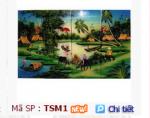Sản phẩm tranh sơn mài độc đáo của Công ty TNHH MTV Thanh Hiền