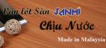 Sản phẩm sàn gỗ chịu nước Janmi - Malaysia của Công ty TNHH Hoàng Gia Nam Việt