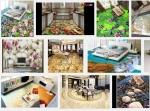 Chọn gạch 3D như nào cho bếp, phòng ăn của biệt thự như nào cho sang trọng?