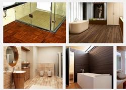 Phòng vệ sinh căn hộ nên chọn sàn gỗ giá rẻ nào chống trơn trượt để không gian sống luôn an toàn?