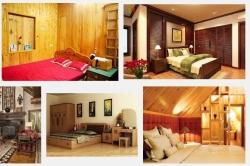 Nên chọn sàn gỗ công nghiệp như nào cho phòng của bé ở nhà gỗ?