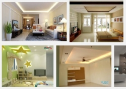 Chọn trần thạch cao cho phòng ngủ nhà cấp 4 đẹp như nào để hiện đại?