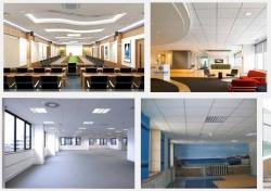 Tại sao nên chọn trần thạch cao cho việc thi công xây dựng phòng làm việc ở văn phòng công ty?
