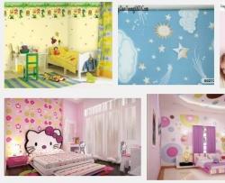 Chọn giấy dán tường cho phòng bé nhà phố như nào?