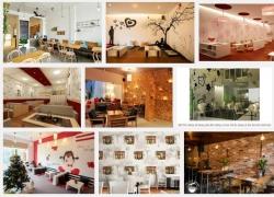 Cách chọn giấy dán tường 3D trang trí cho quán cà phê sân thượng thêm ấn tượng