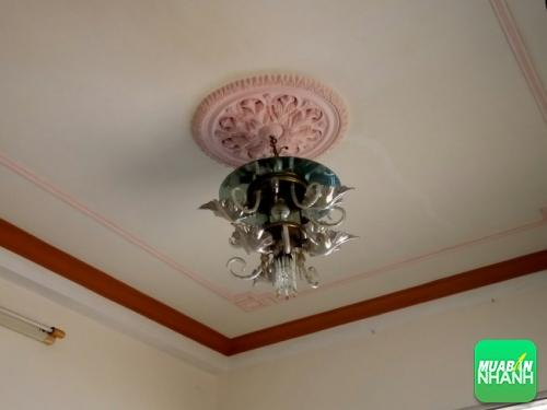 Đèn chùm lộng lẫy sẽ làm cho phòng khách thêm sang trọng, rực rỡ