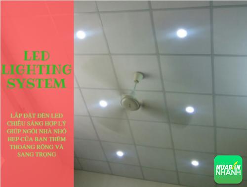 Lắp đặt, bài trí hệ thống đèn led hợp lý giúp ngôi nhà của bạn thoáng rộng và sang trọng hơn